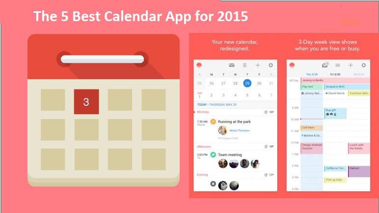 Review Week Calendar App