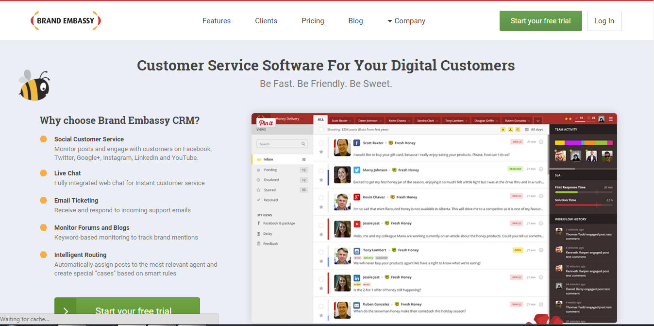 customer service software for small businesses this software turns support teams into customer service rock stars customers always love answers to questions in seconds