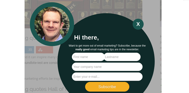 4. Tell customers why they should click - Emailmonday
