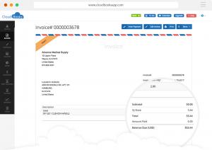 cloudbooks invoice
